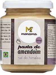 Pasta de Amendoim Monama Saudável Sal do Himalaia 200g