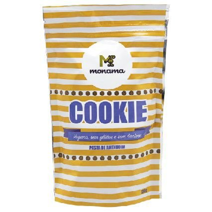 Cookie Pasta de Amendoim Monama 120g