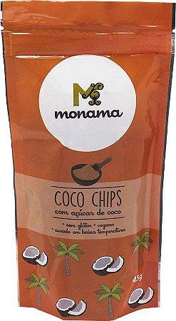 Chips de Coco com Açúcar de Coco Monama 45g