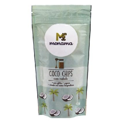 Coco Chips com Melado Monama 45g