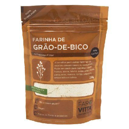 Farinha de Grão-de-Bico Farovitta 200g