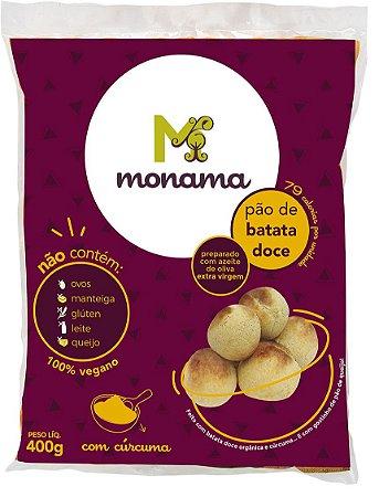 Pão de Batata Doce Monama Sem Glúten - Tipo Pão de Queijo Vegano 400g