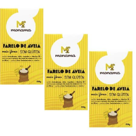 Kit 3 Farelos de Aveia - 5% OFF