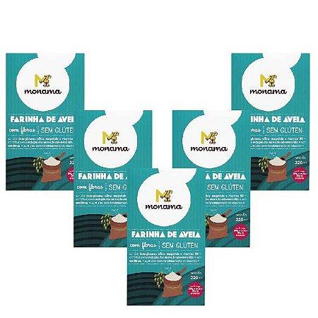 kit 5 Farinhas de Aveia - 10% OFF