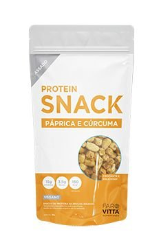Protein Snack Páprica e Cúrcuma 35g