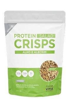 Protein Crisps Alho e Alecrim 85g