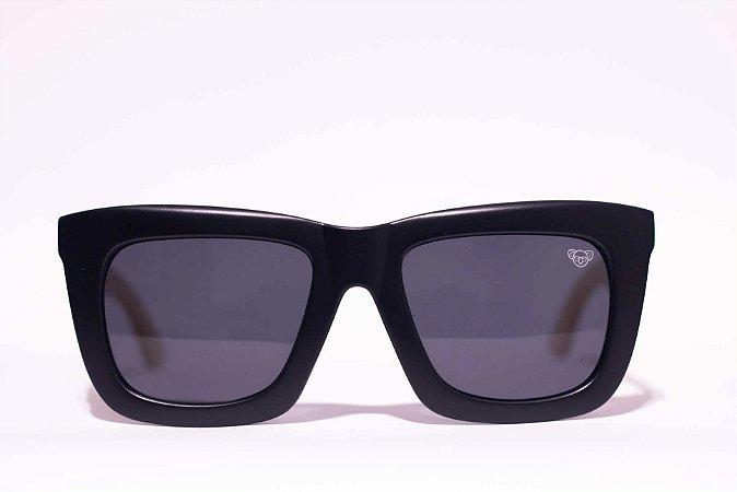 Óculos solar com hastes em bambu Classic Bold