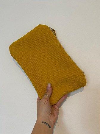 Clutch Amarelo Queimado