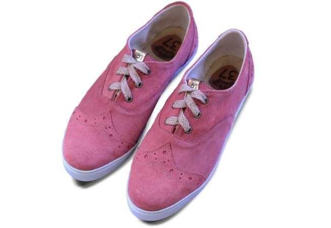 Tênis Oxford Rosa