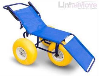 Cadeira de Rodas Ortobras - Ipanema Anfíbia