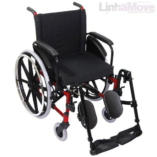 Cadeira de Rodas Ortobras - AVD Alumínio Com Pedal Elevável