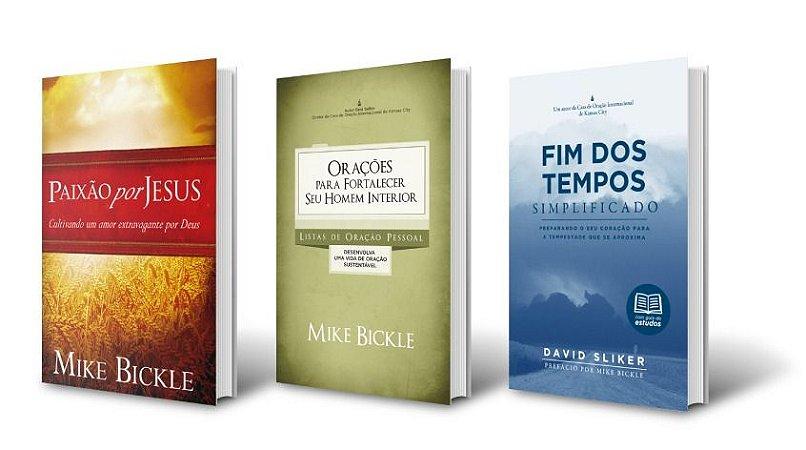 Paixão por Jesus + Orações para forlalecer seu Homem Interior + Fim dos Tempos Simplificado