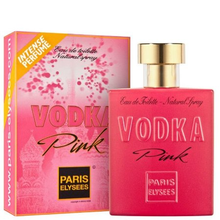 Vodka Pink - Perfume Feminino by Paris Elysees