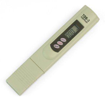 Teste de TDS ( Total de Sólidos Dissolvidos ) e Temperatura - 1 Pc