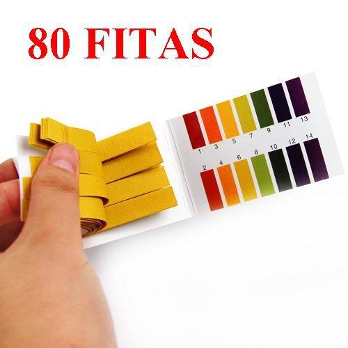 Fita Medição de PH - Teste - 80 Tiras