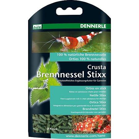 Ração Shrimp King Nano Crusta Brennnessel Stixx - Urtiga