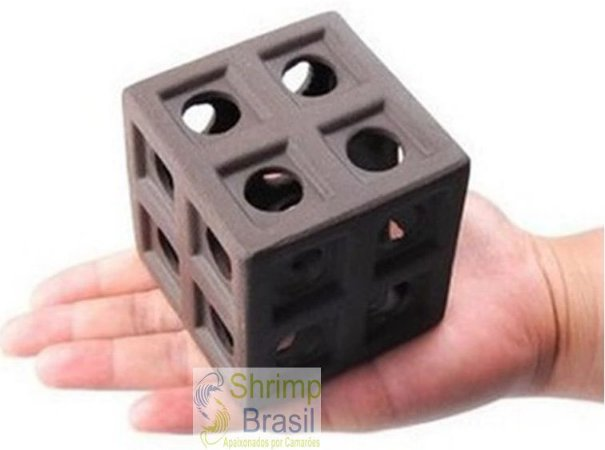 Abrigo Cerâmica cubo 24 furos