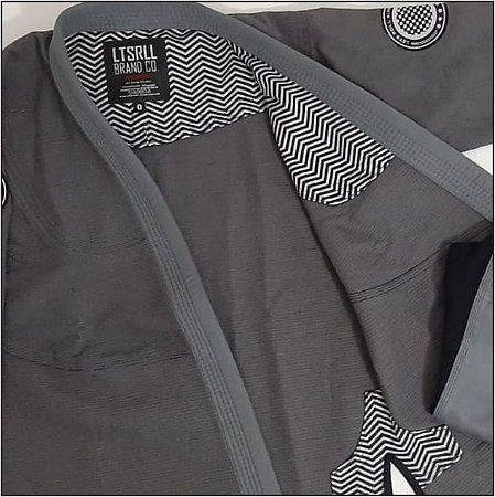 Kimono Trançado Lets Roll Classic Cinza