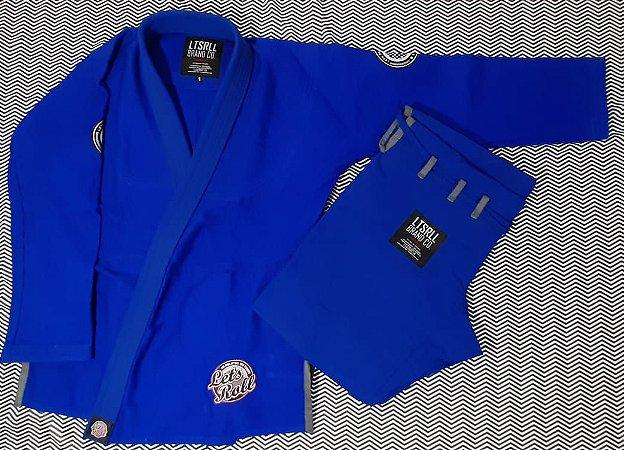 Kimono Trançado Lets Roll COMP Azul