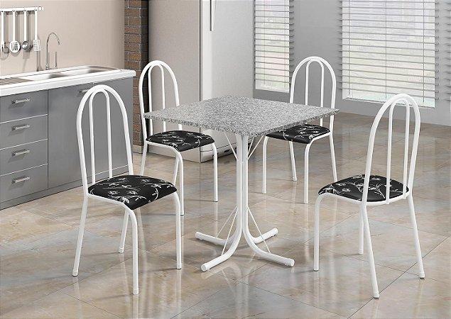 Mesa Madmelos 4 cadeiras 75x75