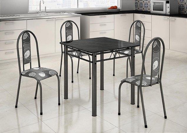 Mesa Madmelos 4 cadeiras 120x75