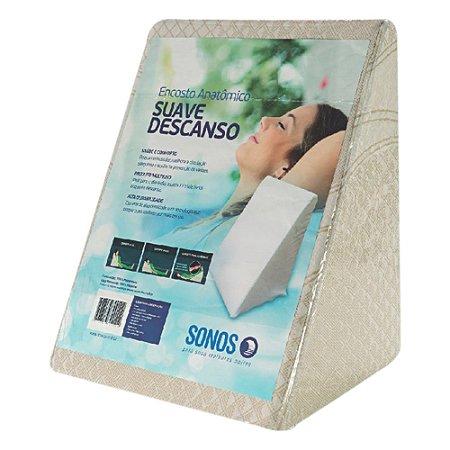 Travesseiro Triangular Sonos Suave Descanso