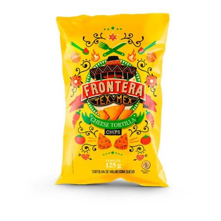 Tortilha de milho sabor queijo Frontera 125g
