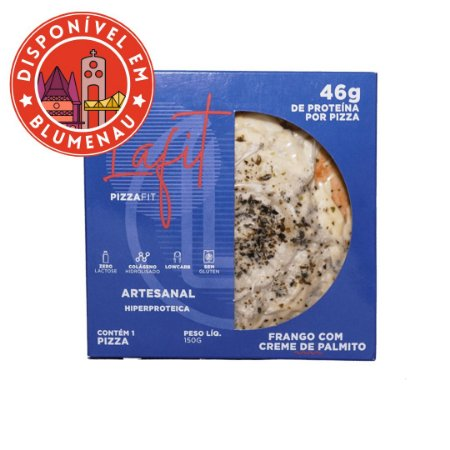 Pizza sabor frango com creme de palmito La Fit 150g