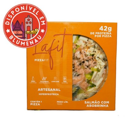 Pizza sabor salmão com abobrinha La Fit 150g