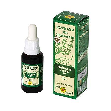 Extrato de própolis verde 70 Apis Flora 30ml
