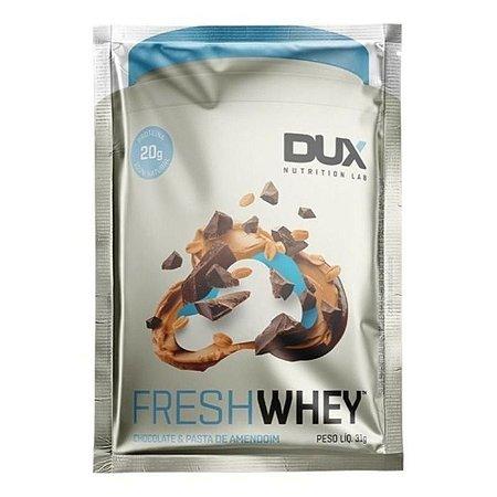 Fresh whey sabor chocolate e pasta de amendoim Dux 31g