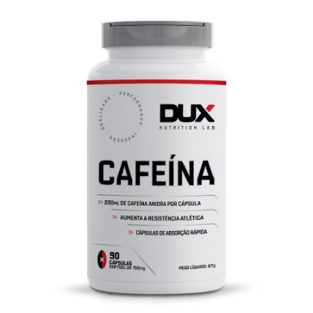 Cafeína Dux 90 cápsulas 210mg