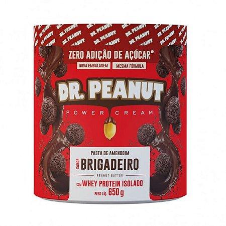 Pasta de amendoim brigadeiro Dr Peanut 650g