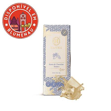 Barra chocolate branco Haoma 250g