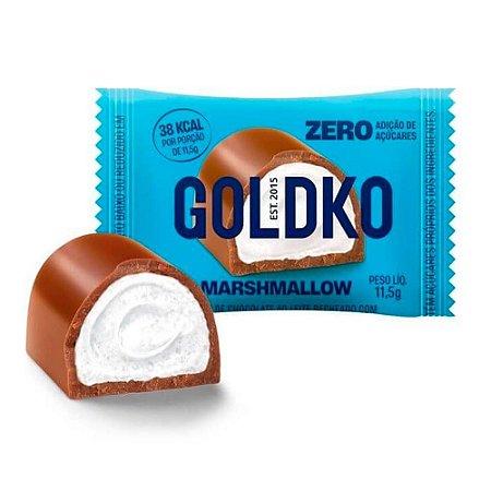 Bombom de marshmallow zero açúcar Goldko 13,5g