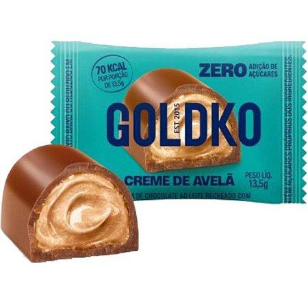 Bombom de creme de avelã zero açúcar Goldko 13,5g