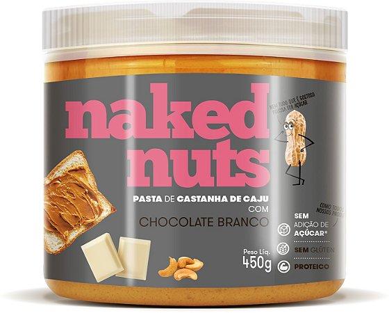 Pasta de castanha de caju com chocolate branco Naked Nuts 450g