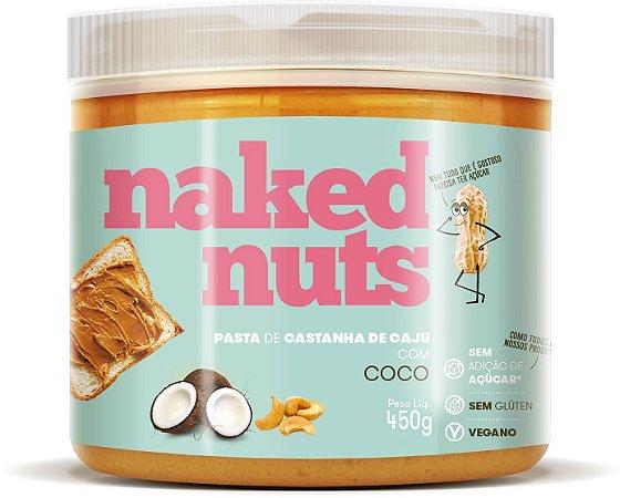 Pasta de castanha de caju com coco Naked Nuts 450g
