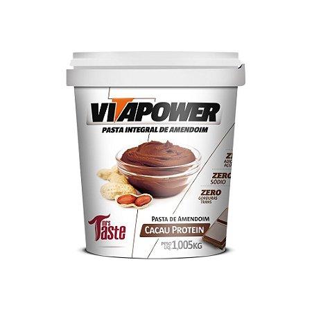 Pasta de amendoim cacau protein Vitapower 1kg