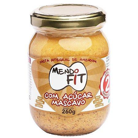 Pasta de amendoim com açúcar mascavo Mendo Fit 260g
