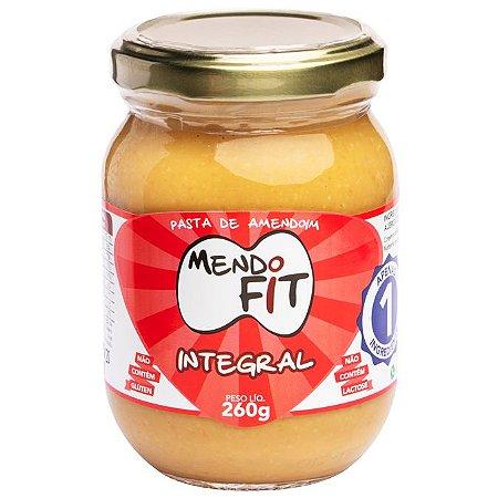 Pasta de amendoim integral Mendo Fit 260g