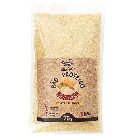 Mistura para pão proteico low carb Senhor Mendo 75g