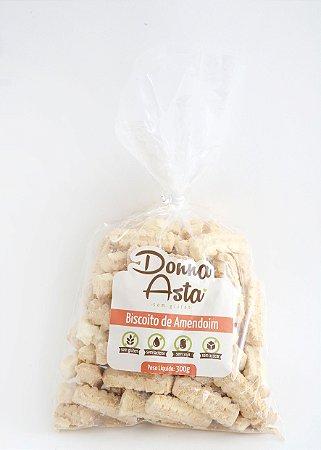 Biscoito de amendoim 0% açúcar Donna Asta 300g