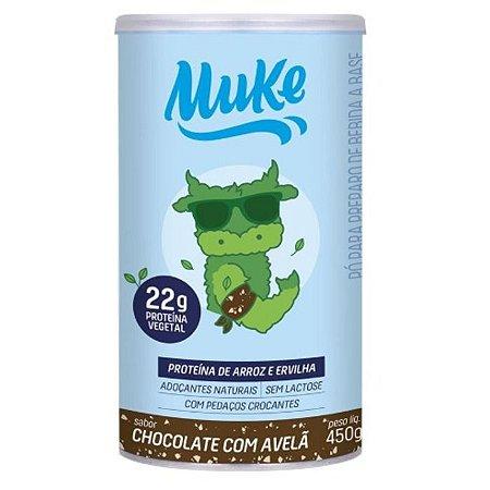 Proteína vegetal chocolate com avelã Muke 450g