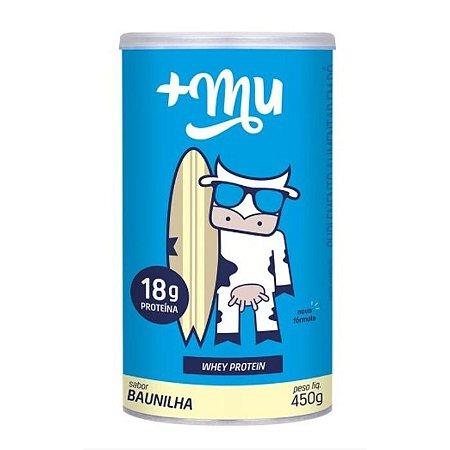 Whey +Mu baunilha 450g