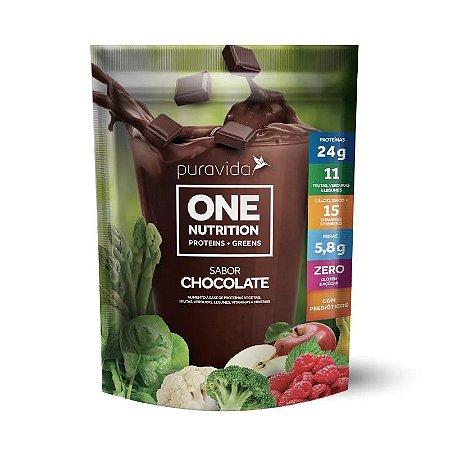 One nutrition sabor chocolate Puravida 450g