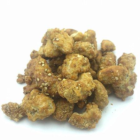 Castanha de caju caramelizada com gergelim (Granel - preço/100g)