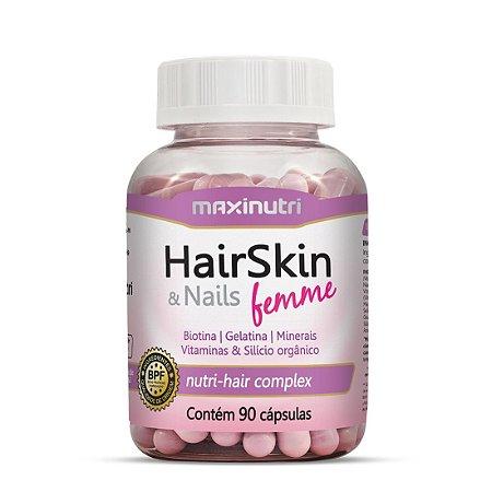 Hairskin e nails Femme Maxinutri 90 cápsulas