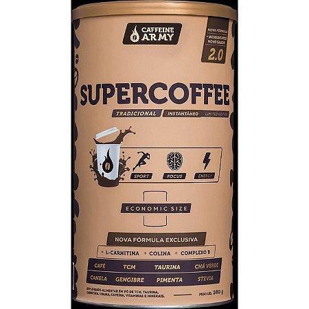 Supercoffee economic size sabor tradicional Caffeine Army 380g