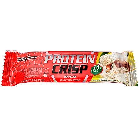 Protein crisp leite ninho com creme de avelã Integralmedica